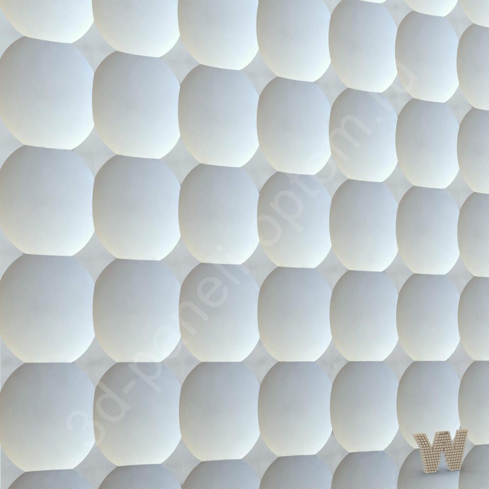 """3D плитка из гипса """"Пиксель"""" не требующая затирки швов"""