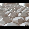 """Бесшовные 3D панели """"Рози"""" 500-500-30мм"""