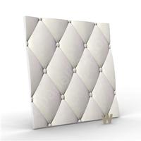 """3D дизайнерская панель """"Кожа вытянутая NEW"""" 500-500-25мм"""