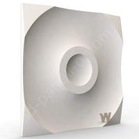 """Premium 3D дизайнерская панель """"Круги"""" 500-500-25мм"""