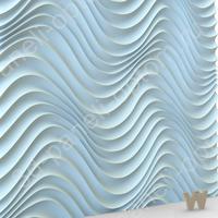 """PREMIUM 3D панель из гипса """"Атира"""" 600-600-30мм"""