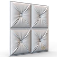 "PREMIUM 3D декоративная панель ""Кожа Честер"" 600-600-30мм"