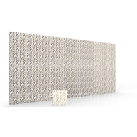 """Рельефные 3D панели """"Листва"""" 500-500-30мм"""