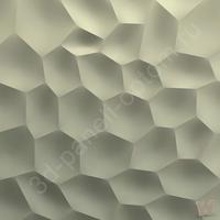 "Гипсовая 3D панель ""Slope"" 500х500х20мм"