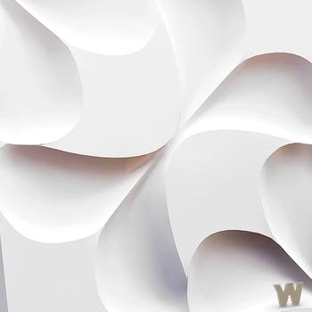 """Гипсовая 3D декоративная панель """"Серпа"""" 500-500-25мм"""