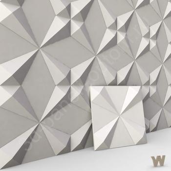 """Рельефные 3D панели """"Уголки"""" 500-500-25мм"""