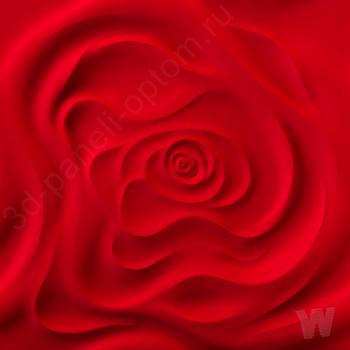 "Premium 3D декоративная панель ""Роза"" 500-500-25мм"