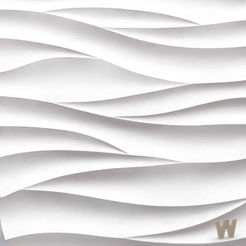 """Дизайнерские 3D панели """"Острые волны"""" 500-500-25мм"""