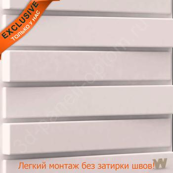 """PREMIUM 3D декоративная панель """"Пиано"""" 500-500-40мм"""