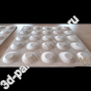 "3D панель ""Бамп"" 500-500-25мм"