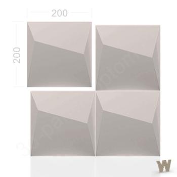 "3D декоративная плитка ""Клифф Сегмент"" 200-200-30мм"