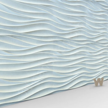 "3D панель ""Волна Каскад"" 500-500-25мм"