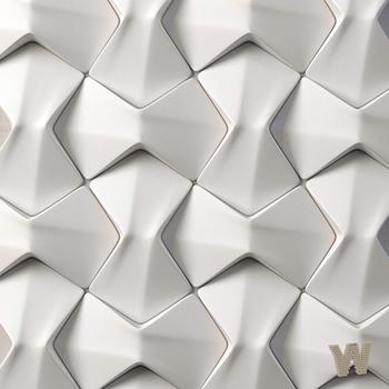 """3D декоративная плитка """"Оригами"""" 250-145-30мм"""
