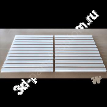 """Premium 3D дизайнерская панели """"Параллели-600"""" 600-600-30мм"""