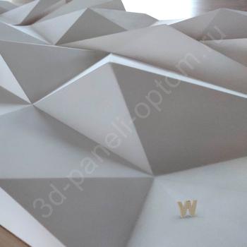 """PREMIUM Дизайнерские 3D панели """"Скала v.2.0-big"""" 600-600-50мм"""