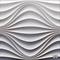 """Гипсовая 3D панель """"Круговая волна"""" 500-500-25мм"""